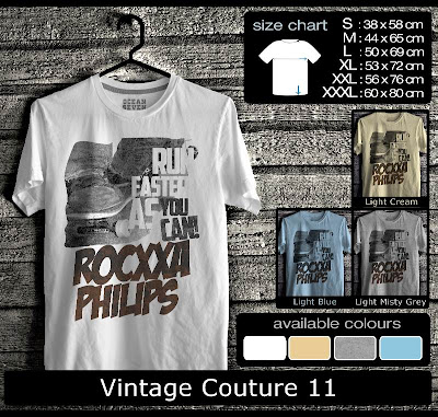 kaos distro vintage couture 11