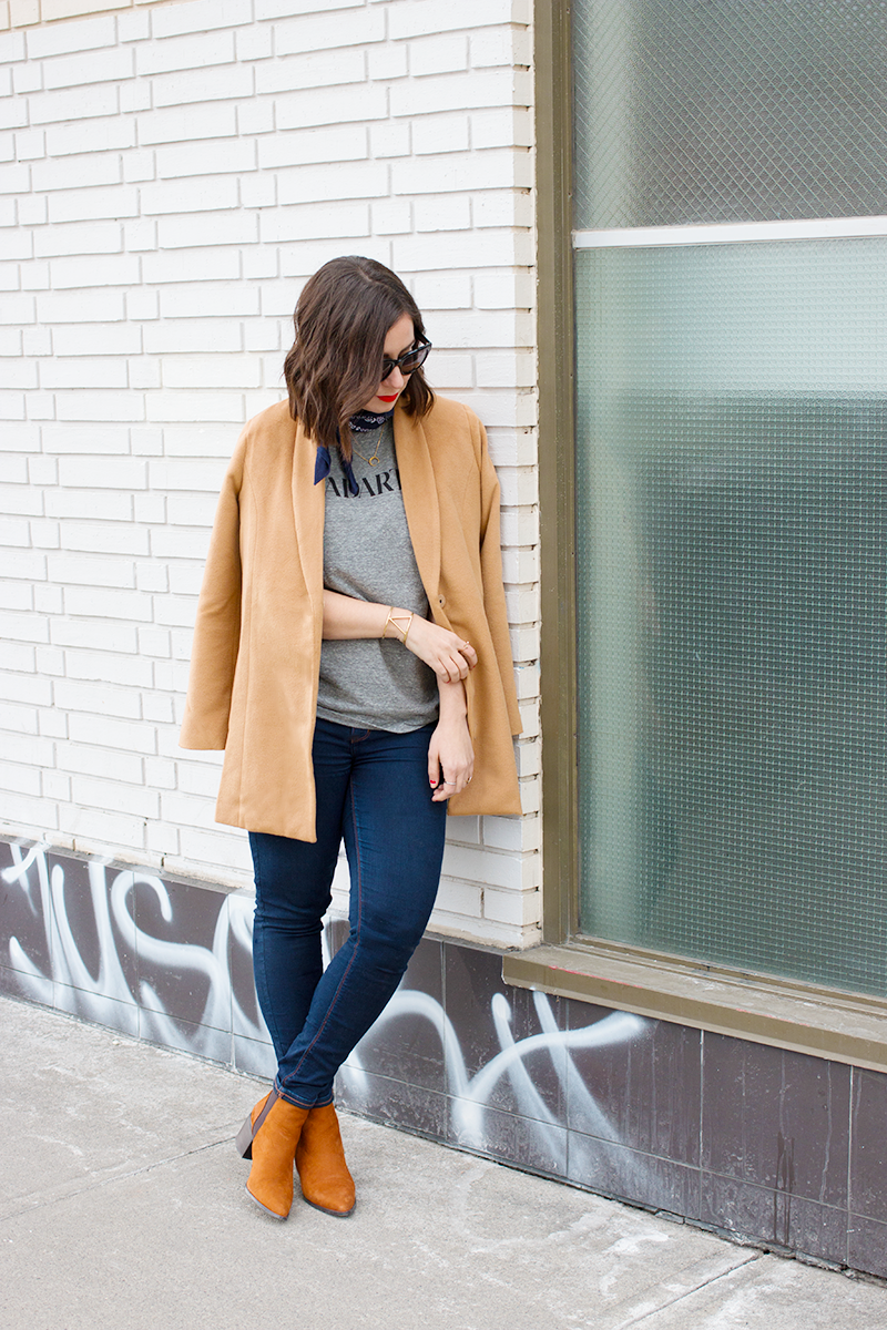 How to wear camel tones for fall