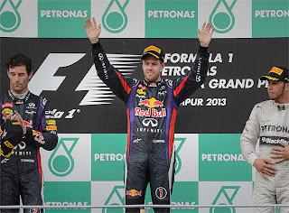 FÓRMULA 1-Vettel gana una carrera pero pierde al equipo