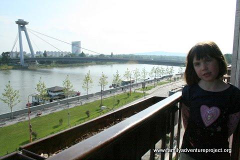 View of Danube Bratislava