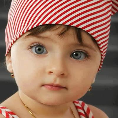 cute baby blue eyes