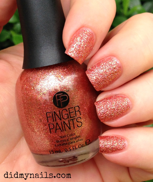 Finger Paints Hammered Terra Cotta swatch