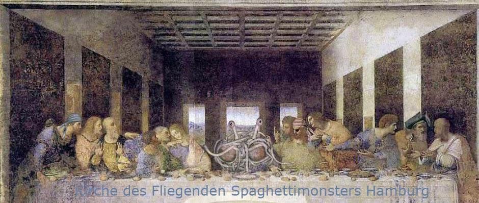 Kirche des Fliegenden Spaghettimonsters  Hamburg