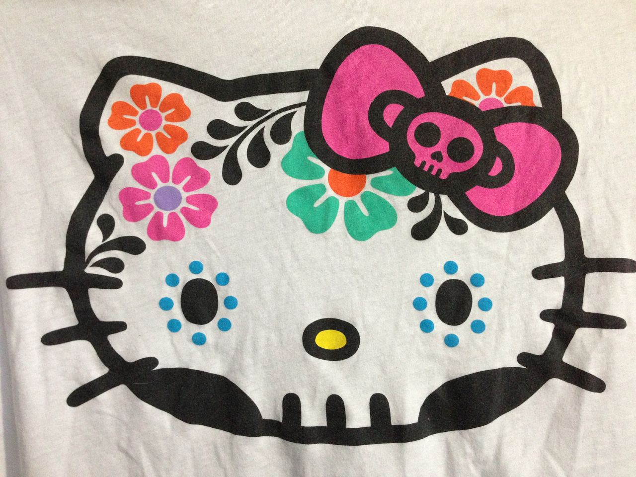 Gallery For gt Hello Kitty Sugar Skull Drawing