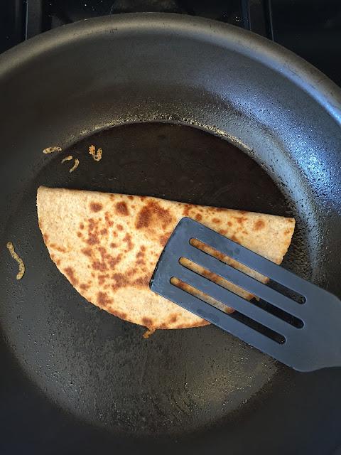 black bean quesadilla
