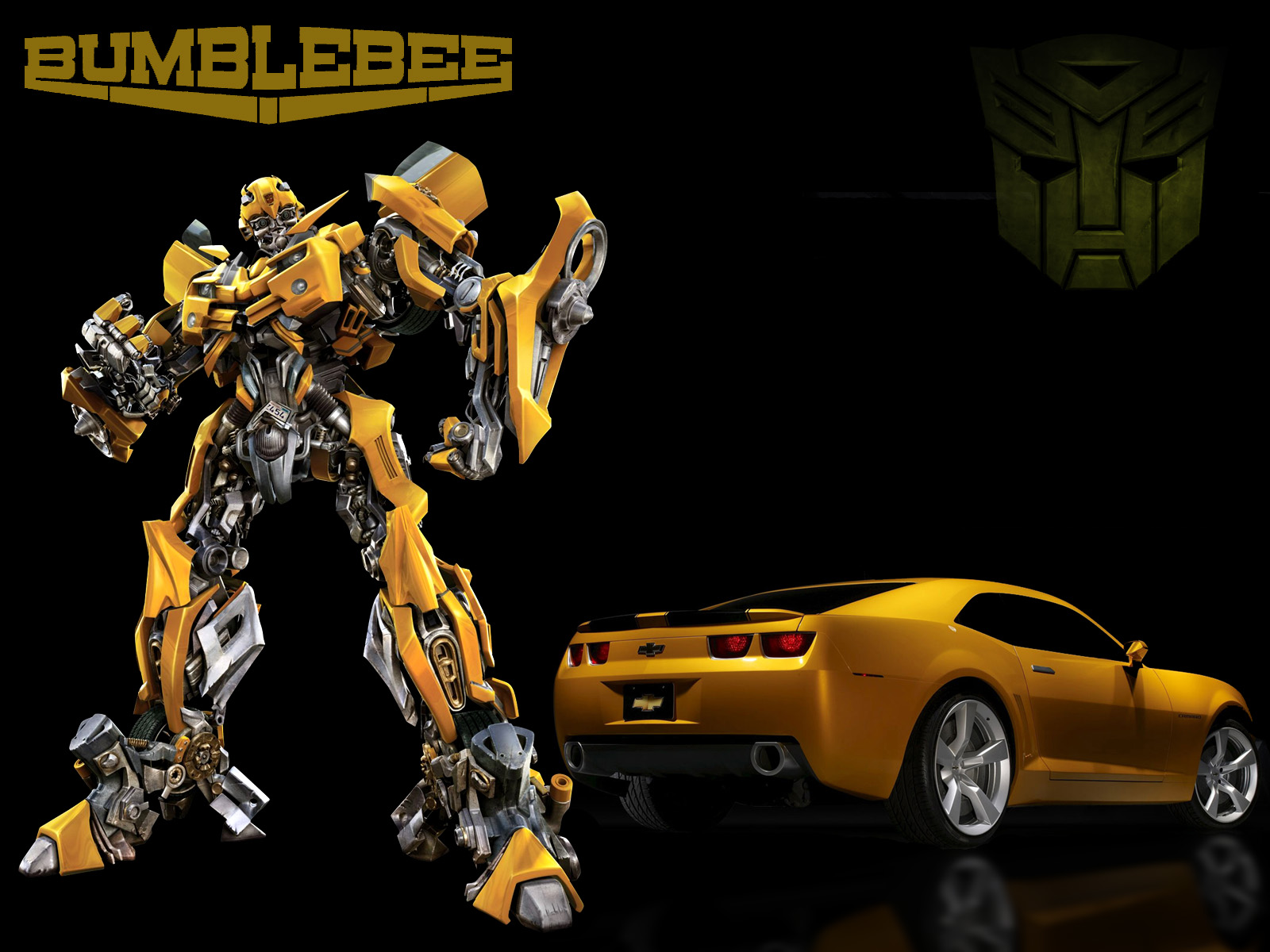 Chevy camaro chevrolet camaro transformers bumblebee edition - Images of bumblebee from transformers ...