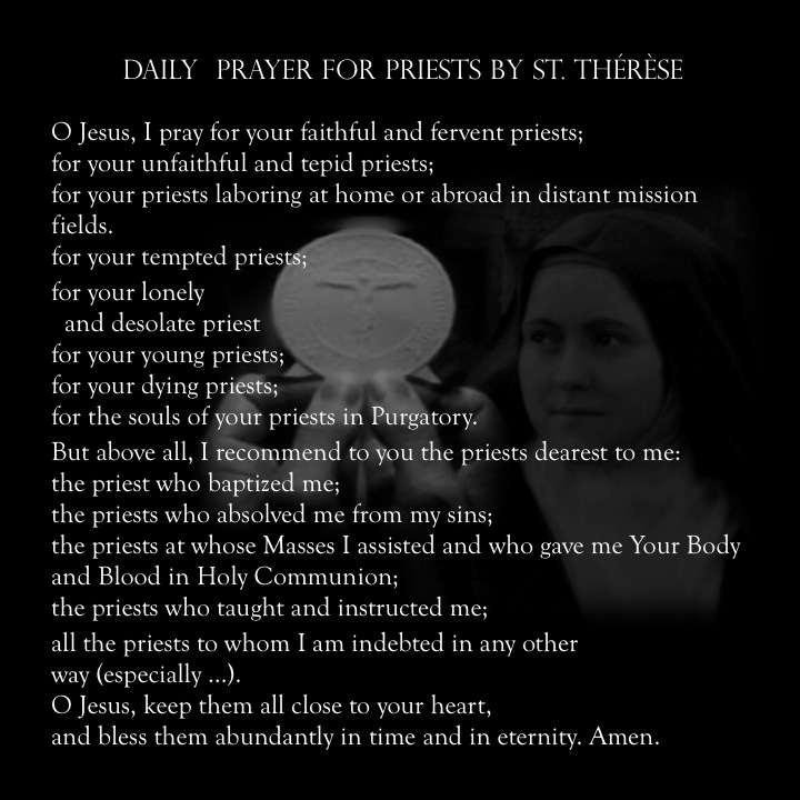 Image result for pray for holy priests