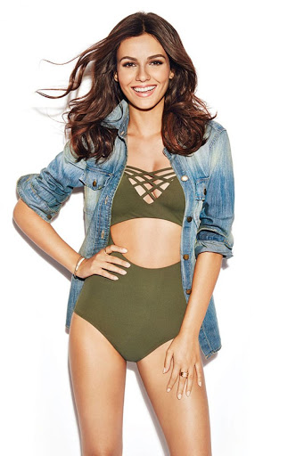 Victoria Justice Health Magazine November 2015 photos