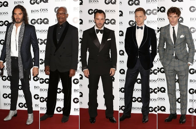 Red Carpet Fashion GQ u0026quot;Menu0026quot; Awards - Fashionably Fly