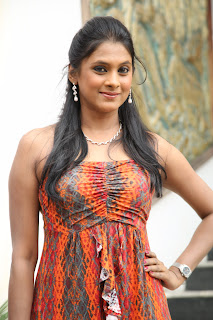 Puvisha Manoharan Spicy Pictures in Short gown at Pochampally IKAT Art Mela