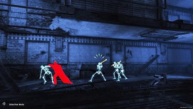 3DS Batman Arkham Origins Blackgate Screenshot