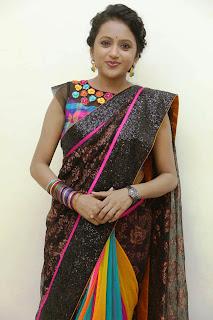 Suma Pictures in Saree at Manam 100 Days Event ~ Celebs Next