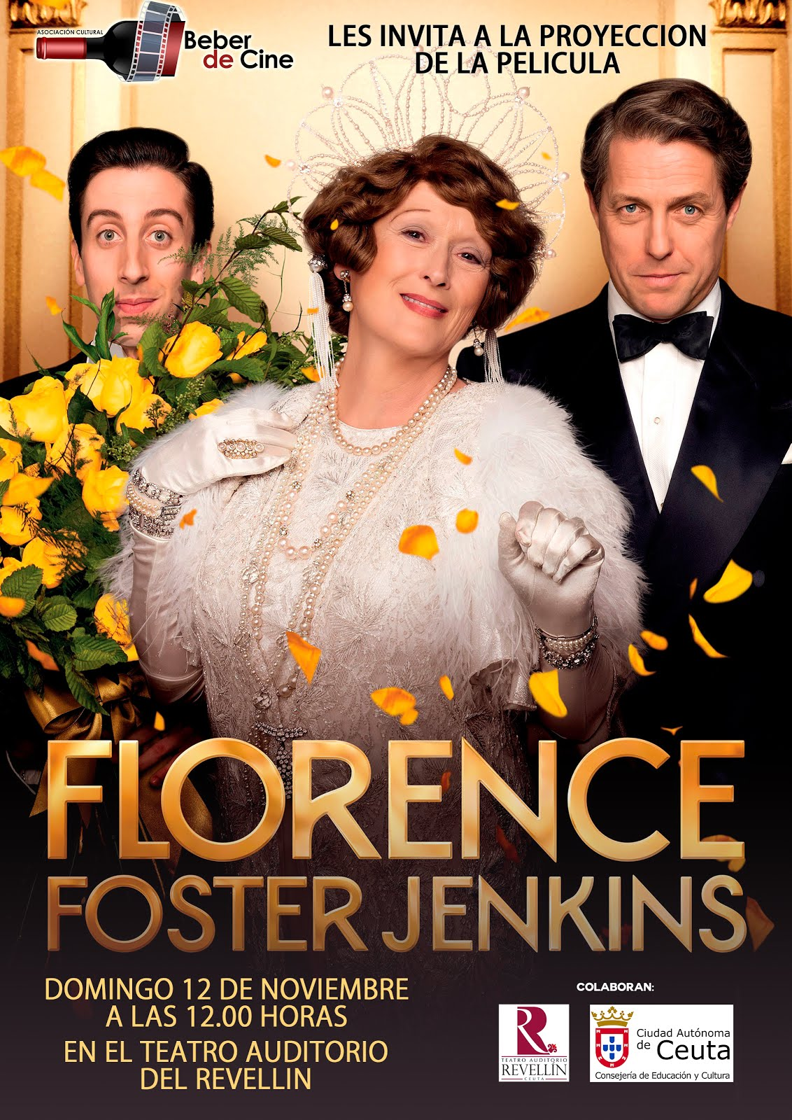 FLORENCE FOSTER DOMINGO 12 Nov.