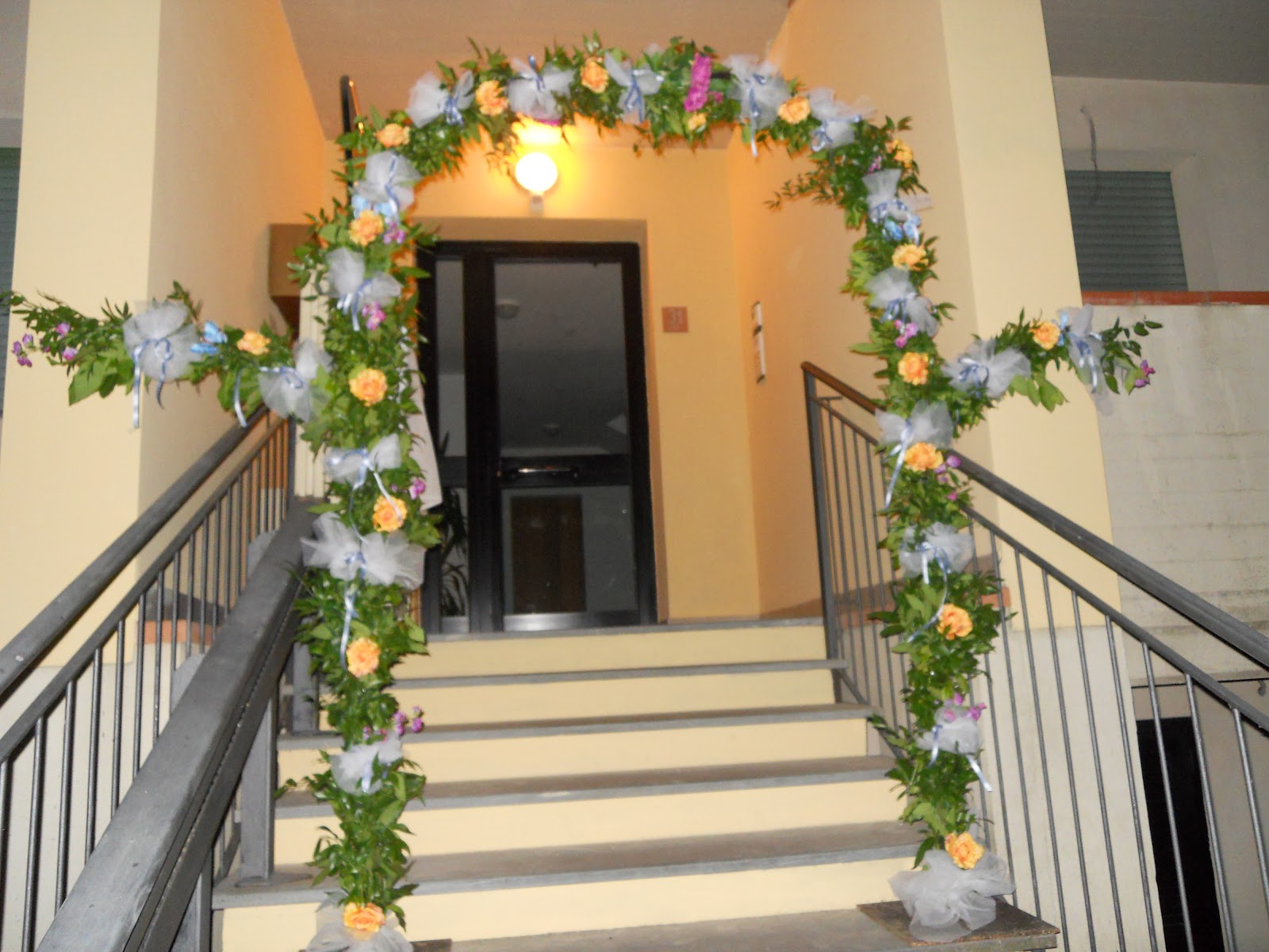 Forever wedding planner matrimonio 21 luglio 2012 prima parte - Addobbi floreali casa sposa ...