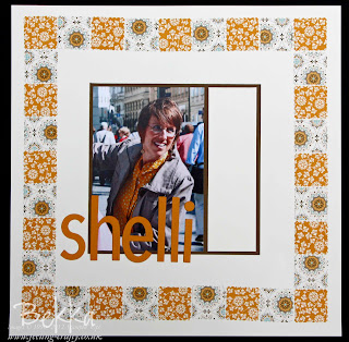 Shelli Gardener Scrapbook Page
