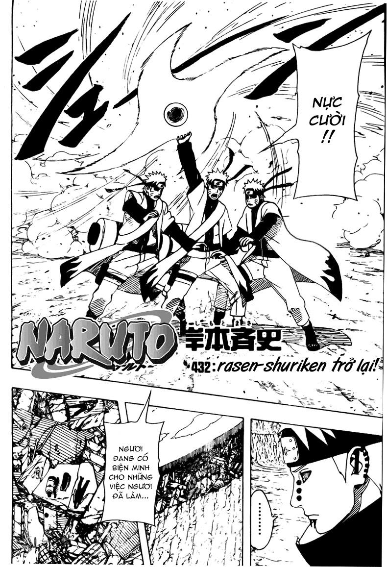 Naruto chap 432 Trang 3 - Mangak.info