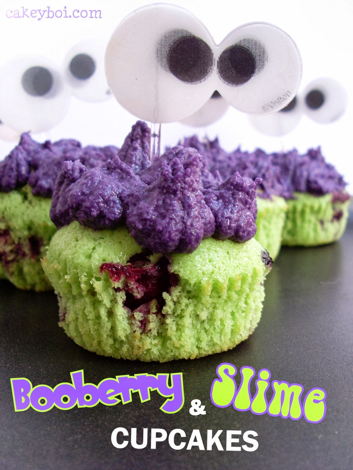 blueberry and lime cupcakes