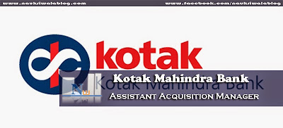 Assistant Acquisition Manager Job 2015