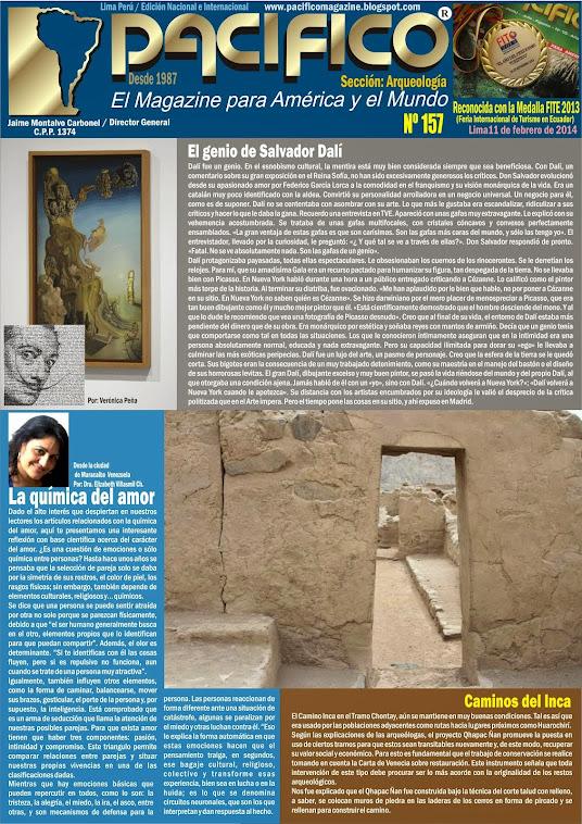 Revista Pacífico Nº 157 Arqueología