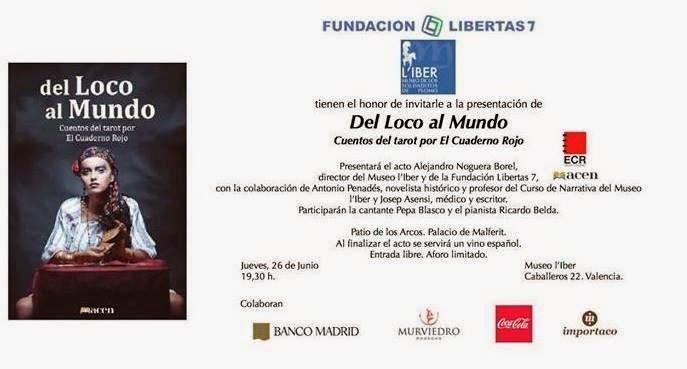 Presentació del llibre de relats Del Loco al Mundo.