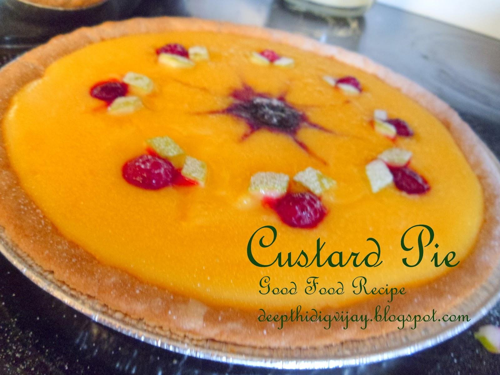 100 vegetarian custard pie forumfinder Image collections