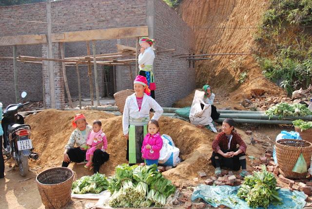 Marché Bao Lam, Cao Bang