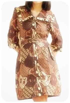 Koleksi model baju batik modern wanita Indonesia