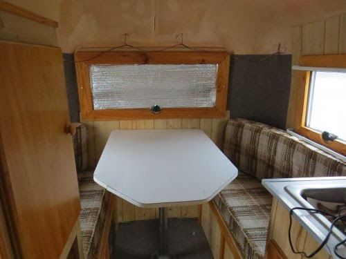 travel trailer table