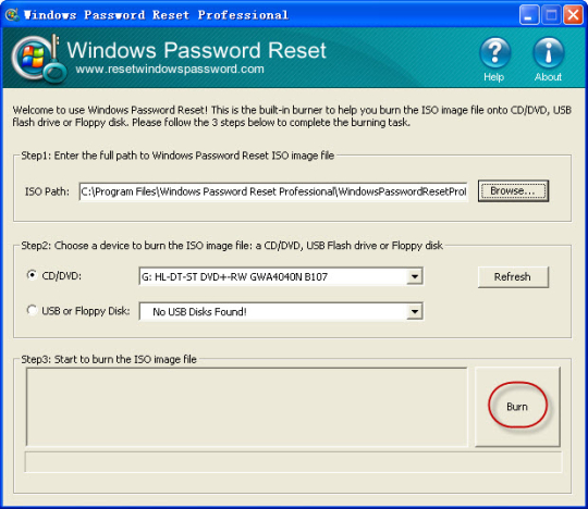 how to break administrator password in windows 7 without software