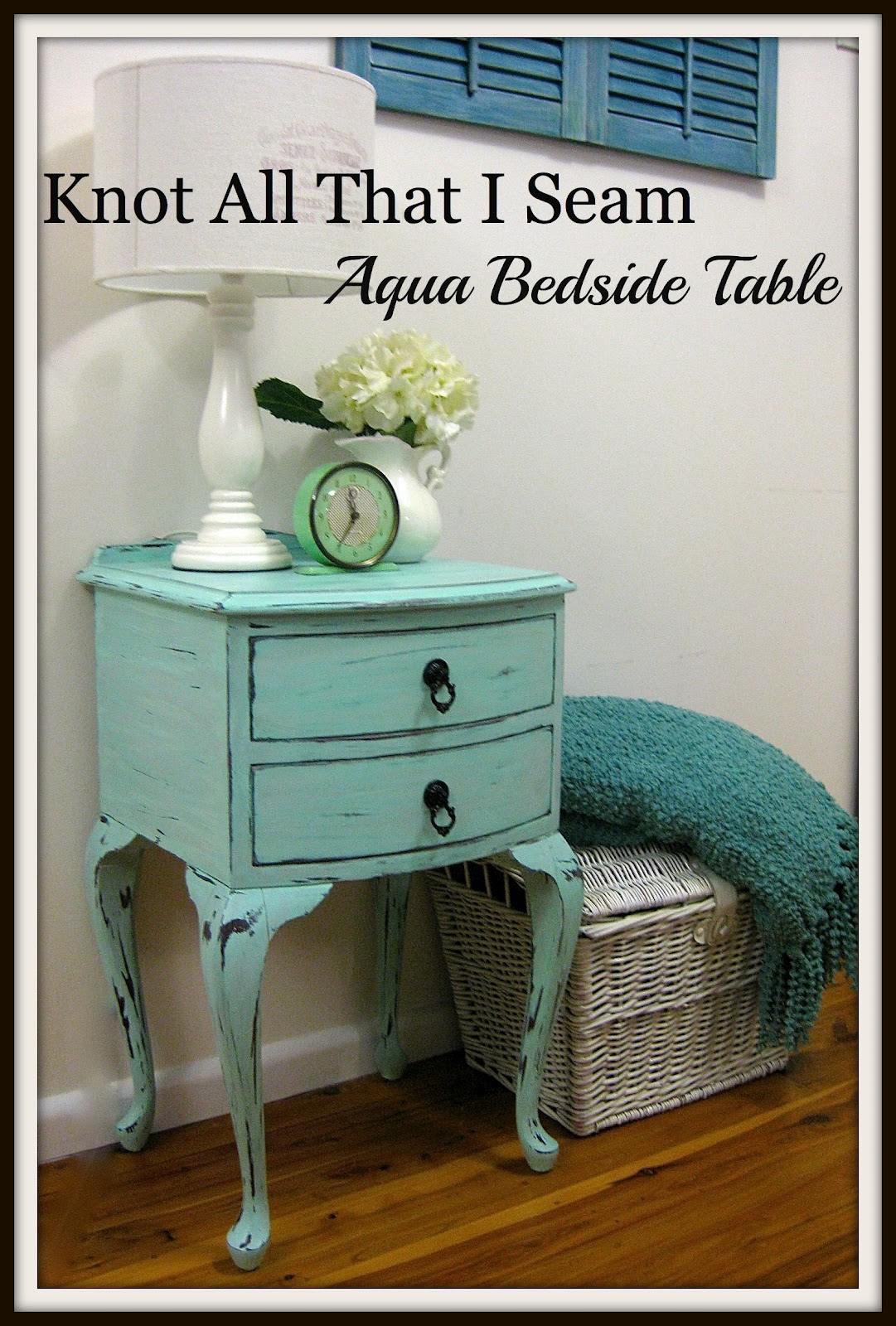 Restyle Relove Main Bedroom Makeover Side Tables Part 3