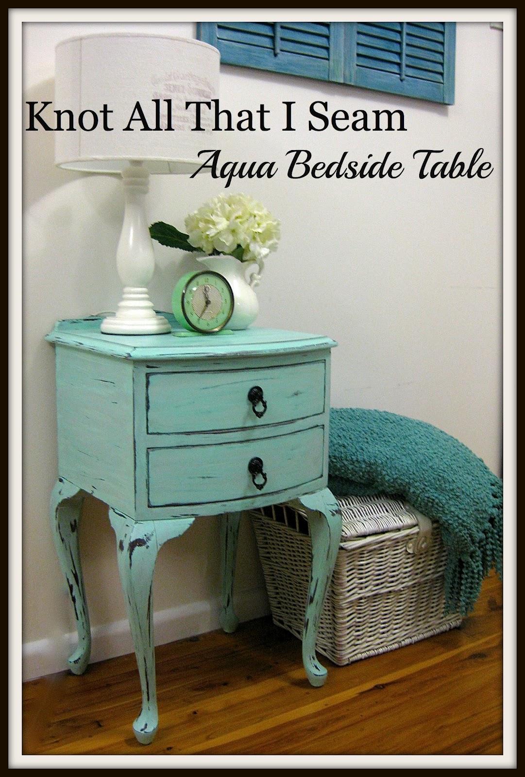 restyle relove main bedroom makeover side tables part 3. Black Bedroom Furniture Sets. Home Design Ideas