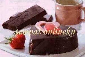 resep kue coklat valentine