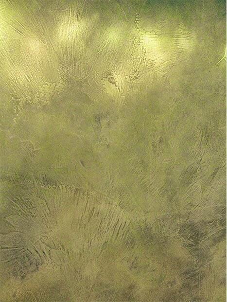 microcemento acabado metalico bronce
