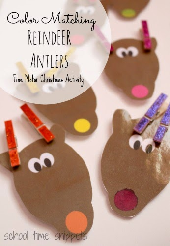 Christmas Themed Activities for 2 & 3 Year Olds   School Time Snippets