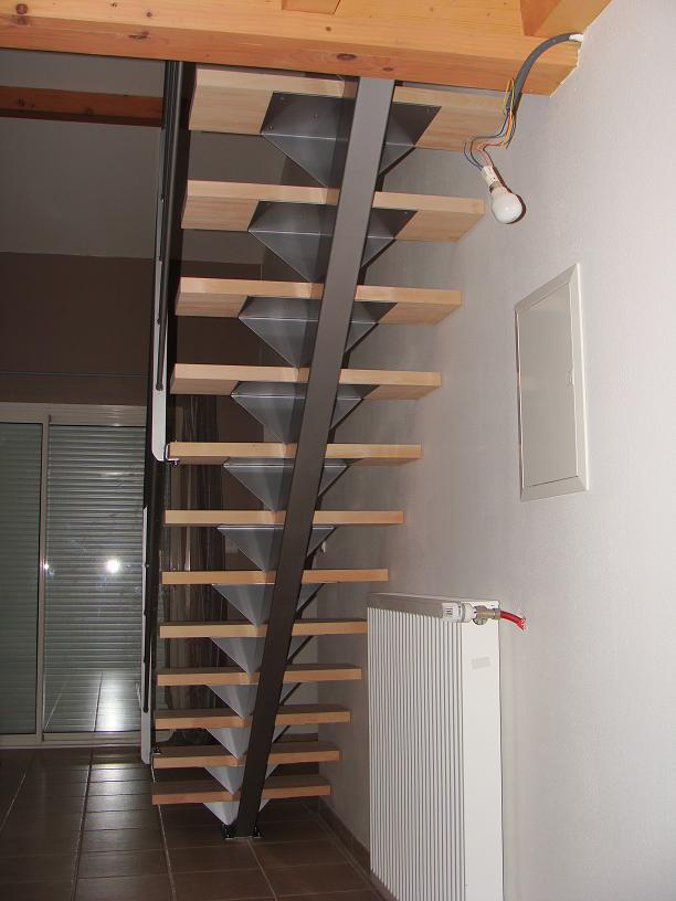 La maison de meltemetpetau l 39 escalier de l 39 tage for Maison de l escalier