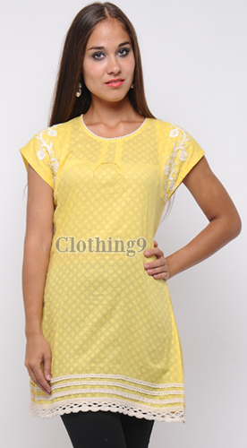 Crosia Designs Kurtis Knitted Kurtis Krosha Work - New Fresh ...