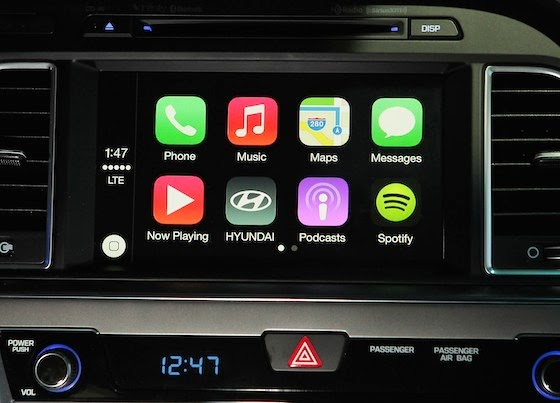 Hyundai will put CarPlay in 2015 Sonata Apple