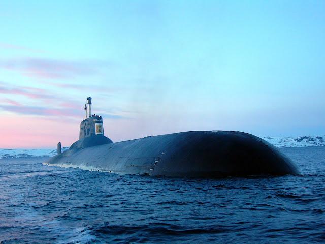 Akula (Typhoon) class SSBN