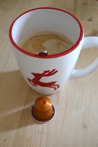 trying nespresso caramelito
