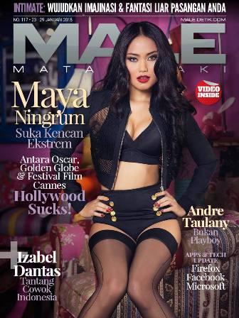 Download Gratis Majalah MALE Mata Lelaki Edisi 117 Cover Model Maya Ningrum MALE Mata Lelaki 117 Indonesia | Cover MALE 117 Maya Ningrum: Aku Orang yang Enggak Pernah Puas | www.insight-zone.com