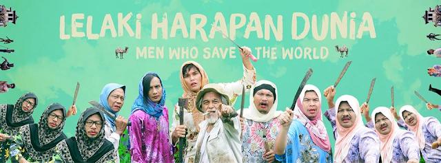 Lelaki Harapan Dunia movie banner