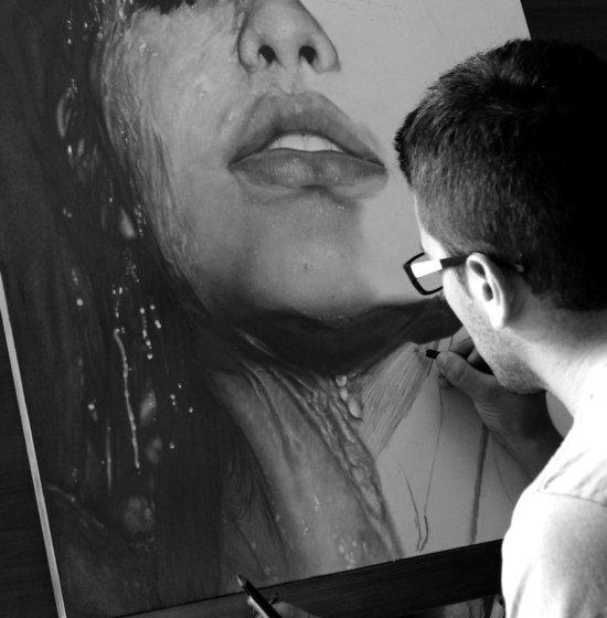 diego fazio diegokoi deviantart desenhos a lápis retratos hiper realistas
