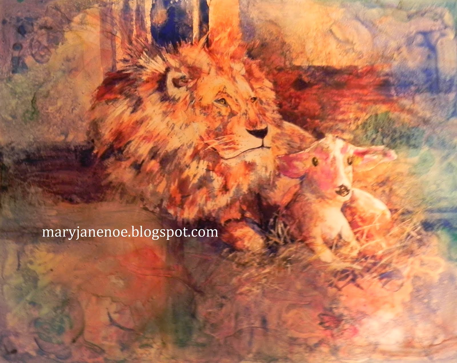 Lion and Lamb #1