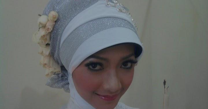 Inspirasi Kreasi Hijab Pengantin Sederhana