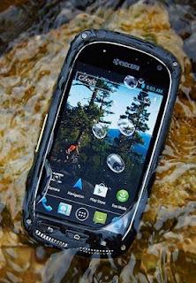 Kyocera Torque, Ponsel Android Tahan Banting dan Kondisi Ekstrim
