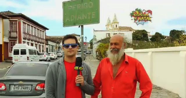 Repórter Vesgo em Santa Luzia (MG)