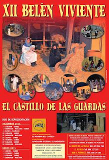 El Castillo de las Guardas - Belén Viviente 2014
