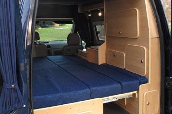 ford transit connect minicamper camper conversion 355x235 - Ford Transit Connect Interior Camper