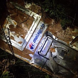 MH17: Gambar Pesawat MAS Yang Ditembak Jatuh Di Ukrain