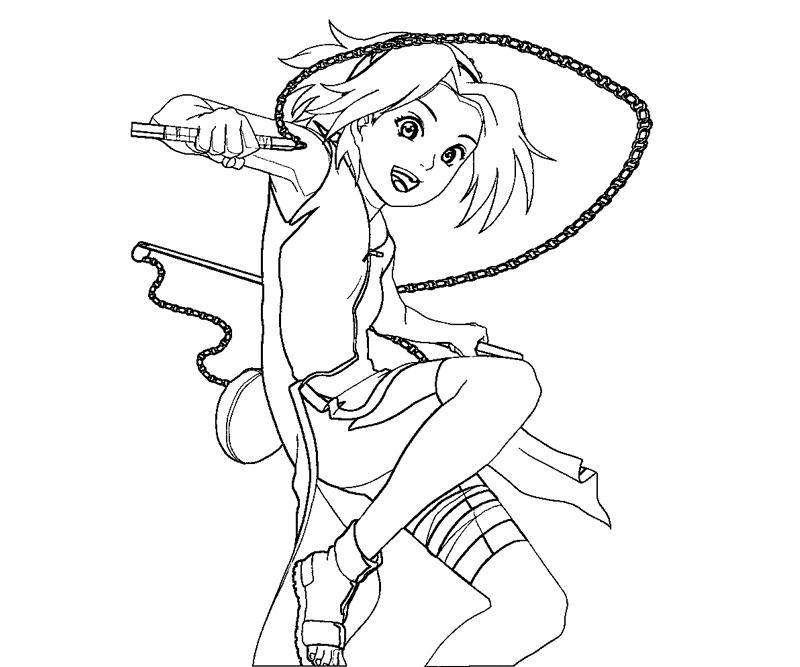 sakura haruno coloring pages - photo#19